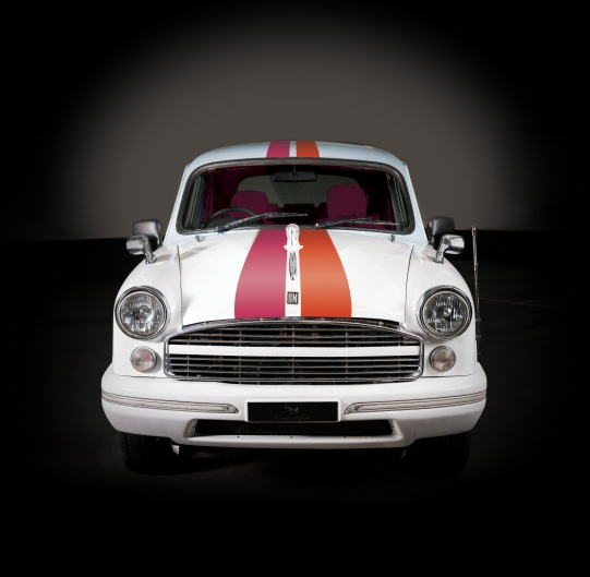 Ambassador Car _ striped copy