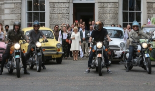 HRH The Duchess of Cornwall at the launch of Elephant Family's Concours d'elephant